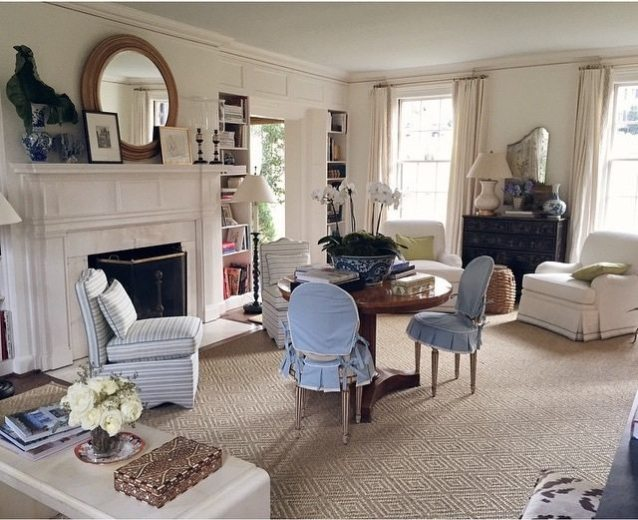 Sarah And I Clearly Share A Passion For Pierre Freys Toile De Nantes Leopard Carpets Blue White Chinoiserie Image Via Amy Berry