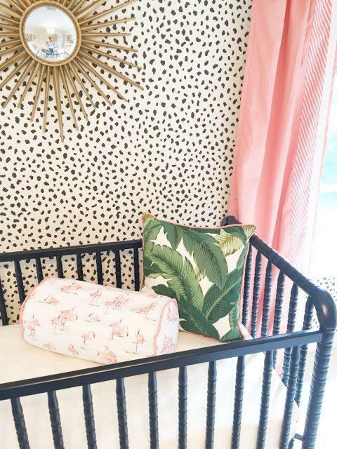 A Palm Beach Inspired Nursery The Glam Pad