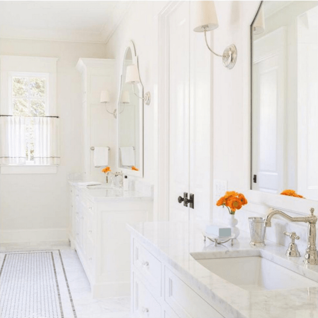 More Perfection In The Powder Room