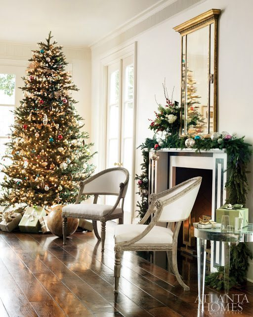 christmas with suzanne kasler the glam pad. Black Bedroom Furniture Sets. Home Design Ideas