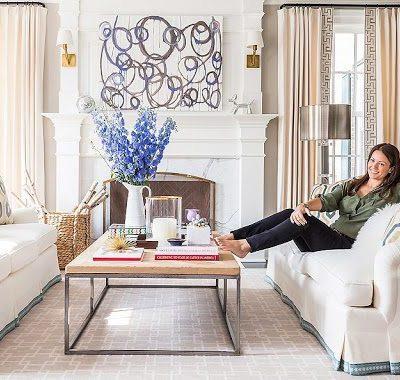 Sue de Chiara's Chic and Preppy Home