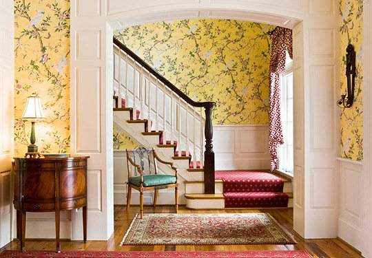 A Colorful and Traditional Southern Home