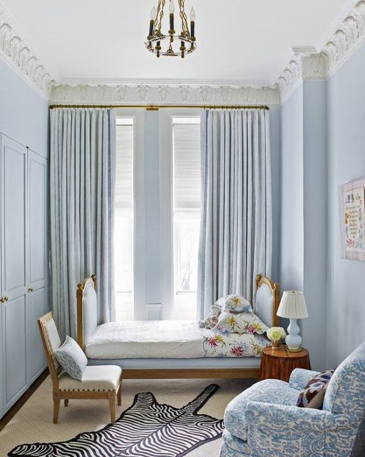 20 Traditional Blue and White Bedrooms - The Glam Pad