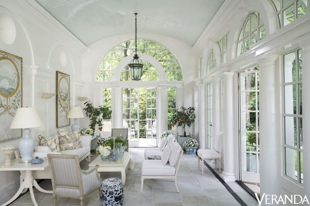 An Elegant Orangerie By Cathy Kincaid The Glam Pad