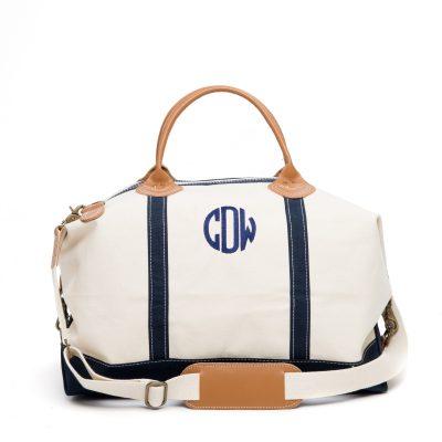 Monogrammed Weekend Bag