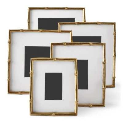 AERIN Gilded Bamboo Frames