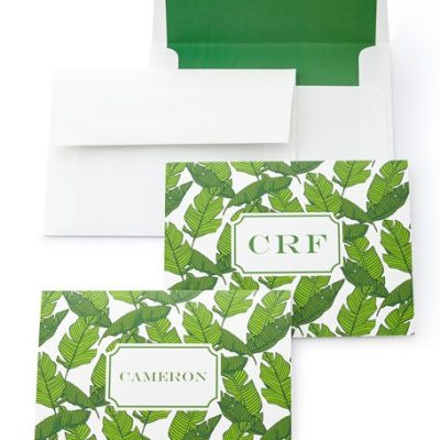 Banana Leaf Stationery
