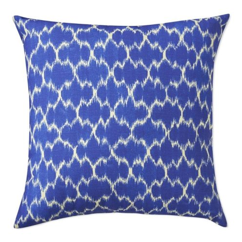 Blue Medallion Outdoor Pillow