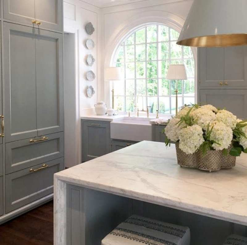 April musings from the southeastern designer showhouse to for Show me beautiful kitchens