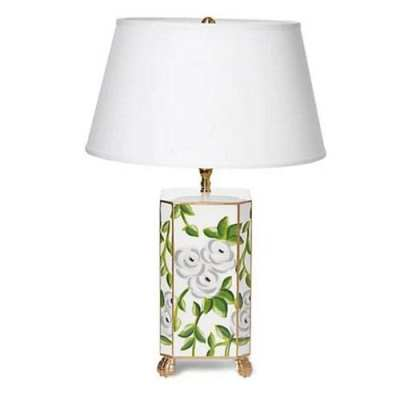 Dana Gibson Chintz Table Lamp
