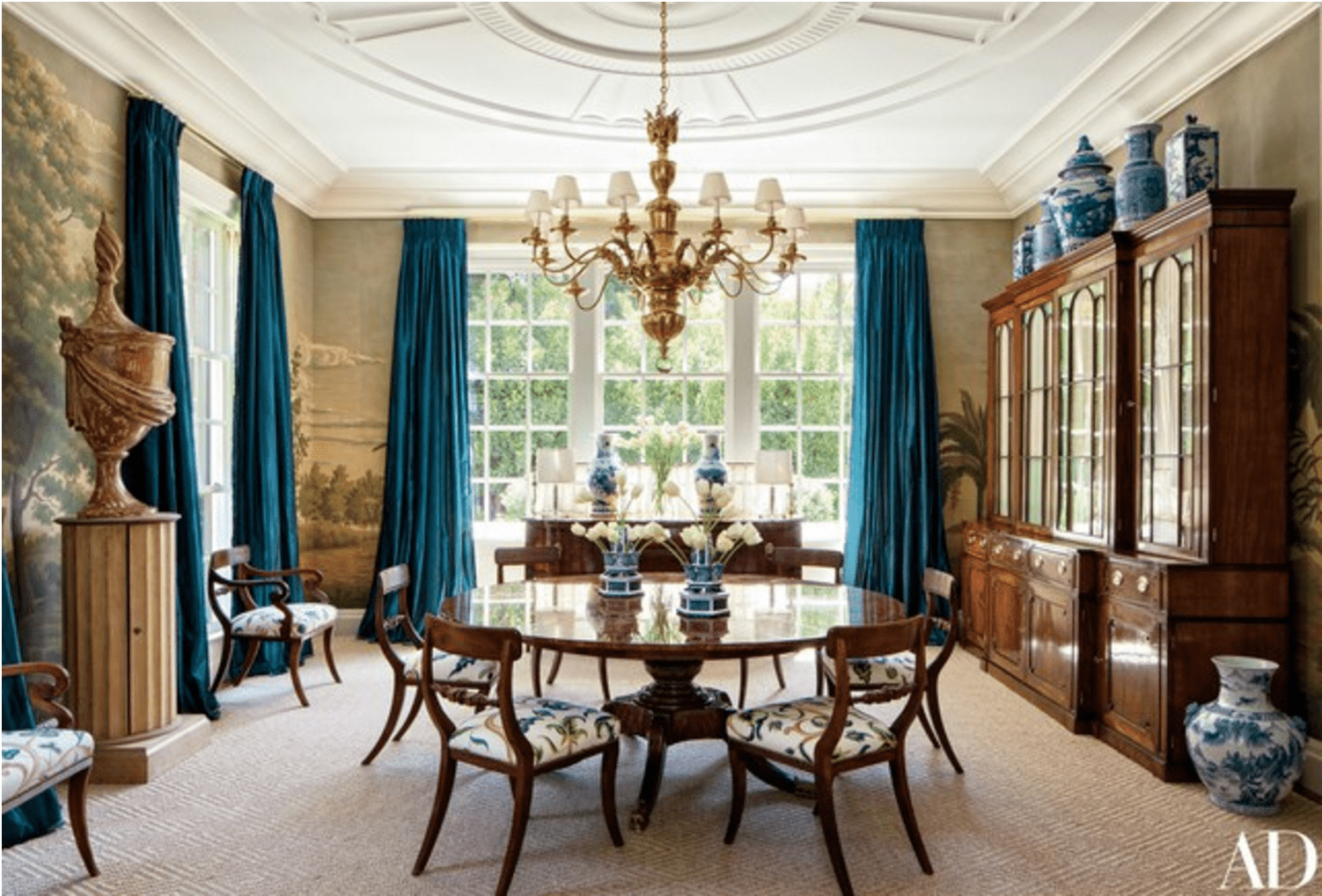 A Classic Colonial Revival by Miles Redd - The Glam Pad