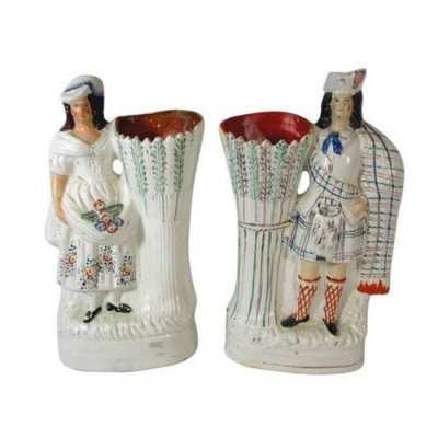 Antique Staffordshire Figurines