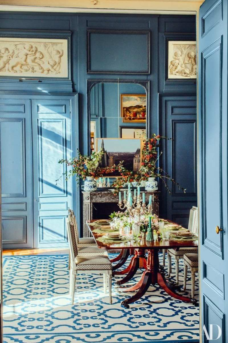 A Painstakingly Restored 18-Century Paris Apartment - The Glam Pad