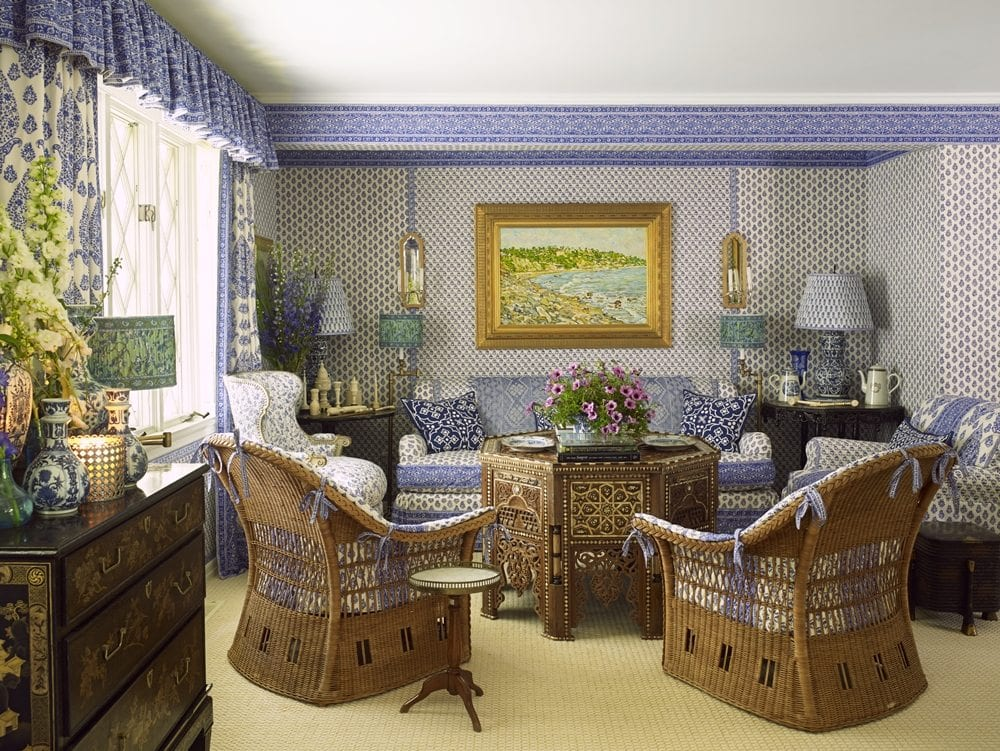 Laura And Harry Slatkin S Sumptious Hamptons Cottage The