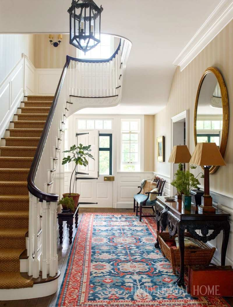 A historicaly inspired dutch colonial by gil schafer the for Dutch colonial interior design