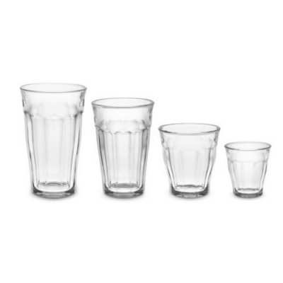 French Picardie Glass Tumblers