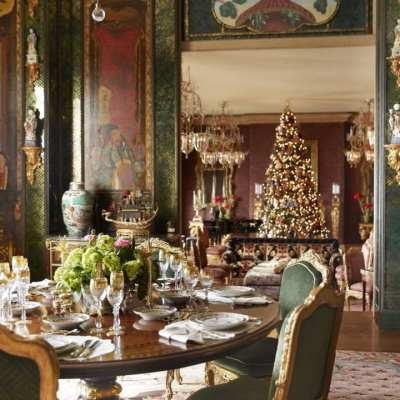Gilded Christmas Elegance by Ann Getty