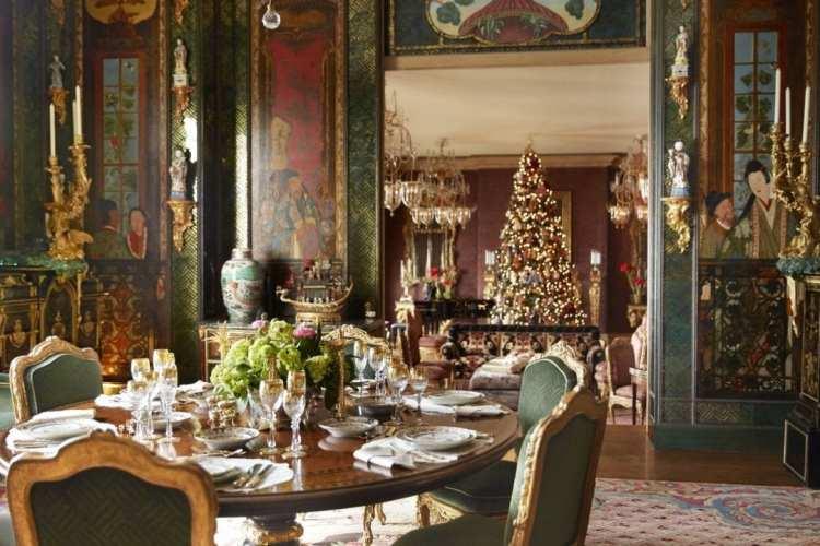 Gilded Christmas Elegance by Ann Getty