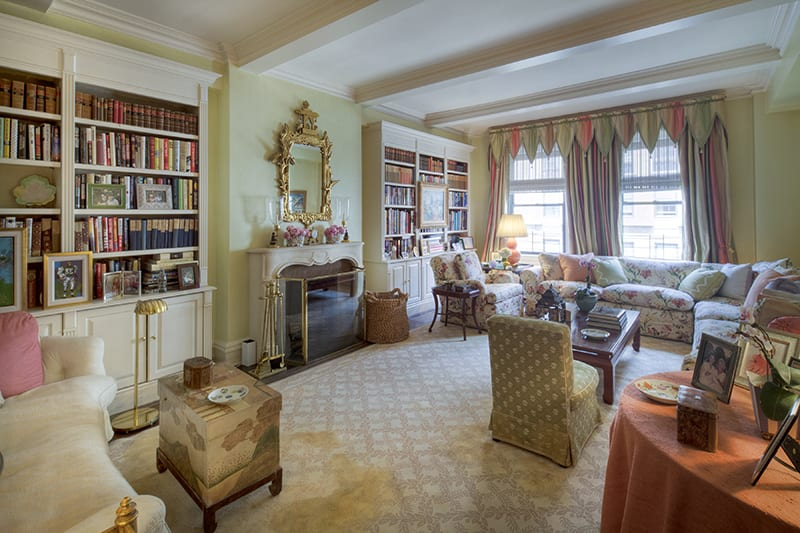 A Previously Unpublished Mario Buatta Apartment The Glam Pad