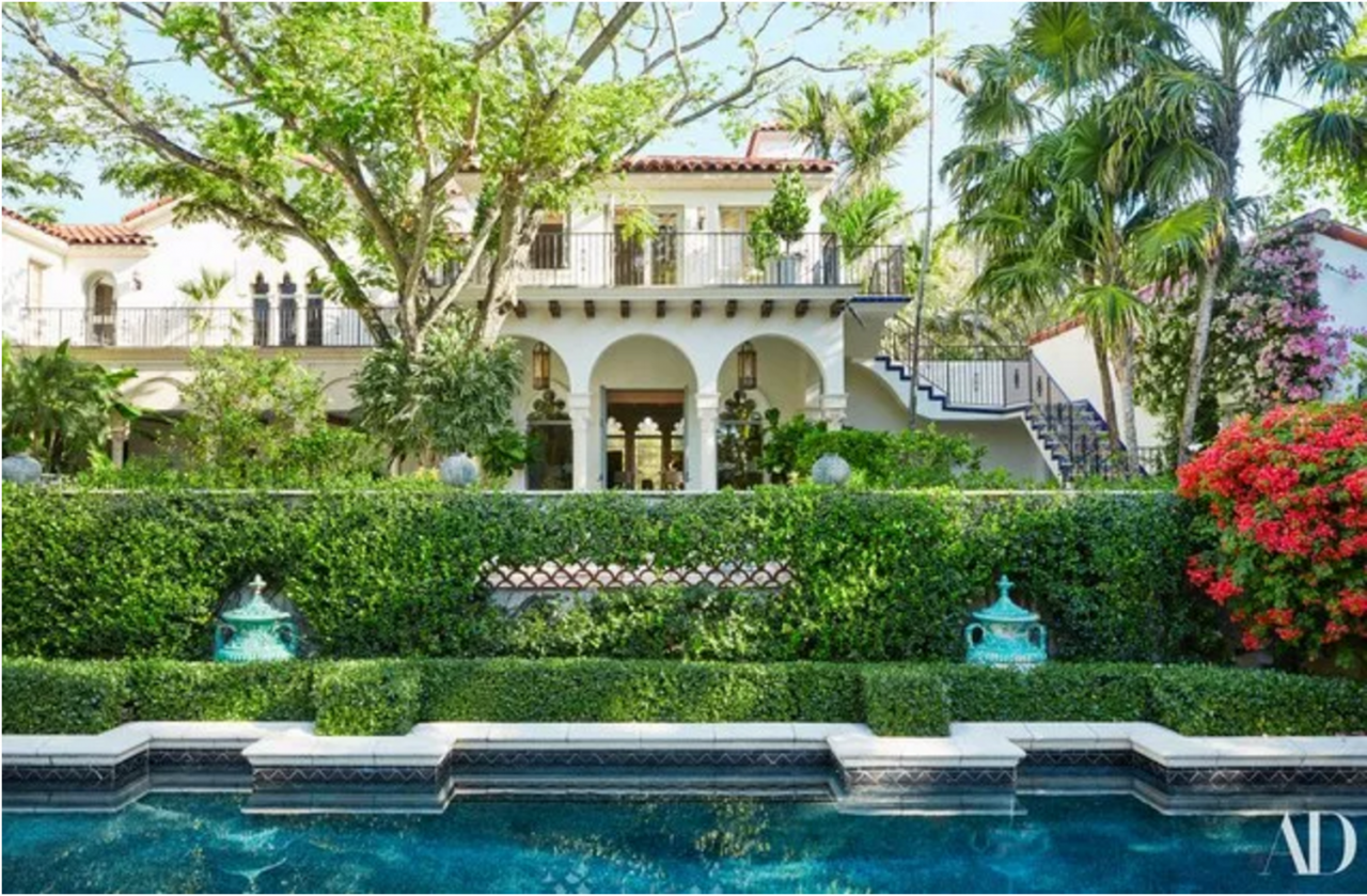 Jacques Grange refreshes a 1930s Palm Beach House - The Glam Pad