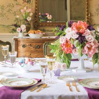 Traditional Tablescapes