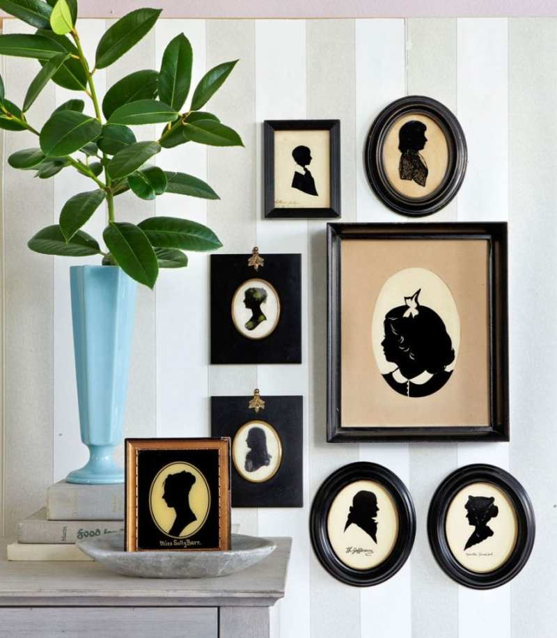 19th-century-1800s-silhouettes-antiques