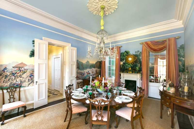 Isaac-Jenkins-Mikell-House_Patricia_Altschul_zuber-sceens-of-north-america-dining-room-luzanne-otte