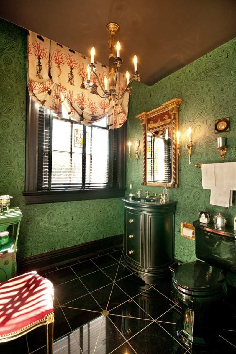 green-marble-bathroom-malachite-wallpaper-powder-room