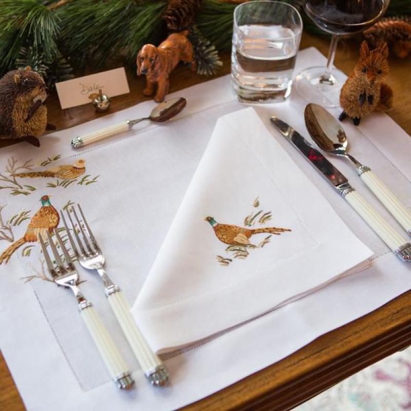 leron-linens-pheasant-placemats-napkins-patricia-altschul-luzanne-otte
