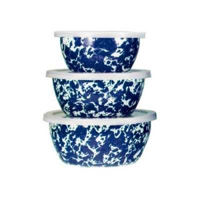 Spongeware Nesting Bowls
