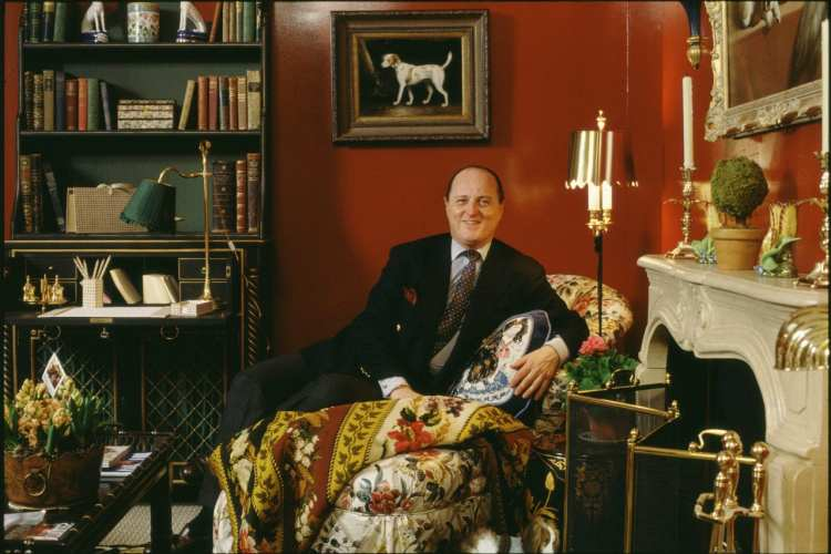 Farewell Mario Buatta, The Beloved Prince of Chintz