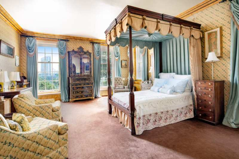 master-bedroom-canopy-bed-1-sutton-place-for-sale-chinoiserie-secretary