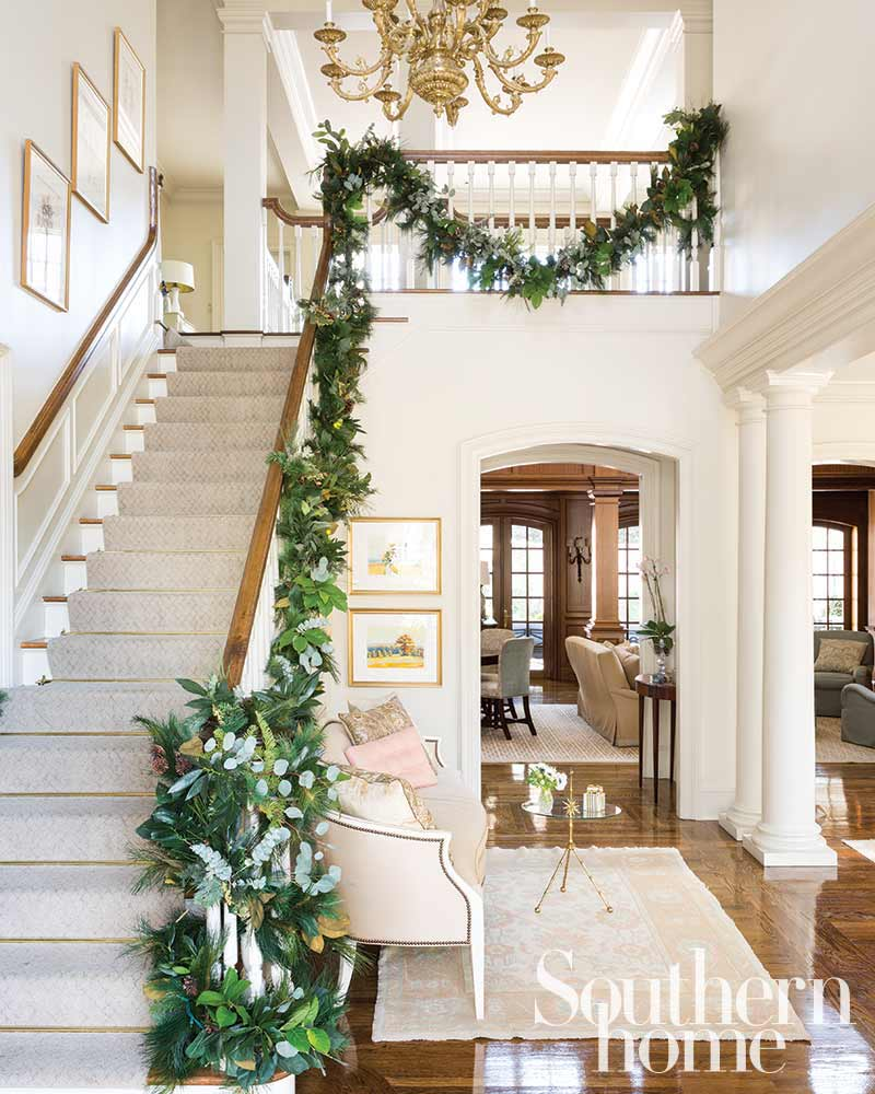 A Southern Home Christmas - The Glam Pad on