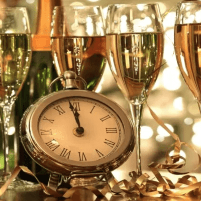 A Sparkling New Year's Eve