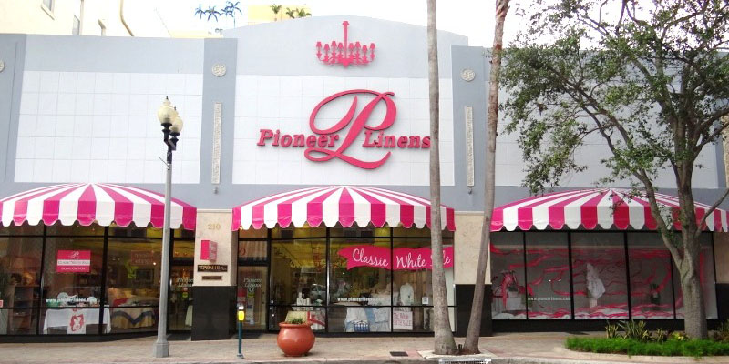 Pioneer Linens A Palm Beach Tradition Since 1912 The
