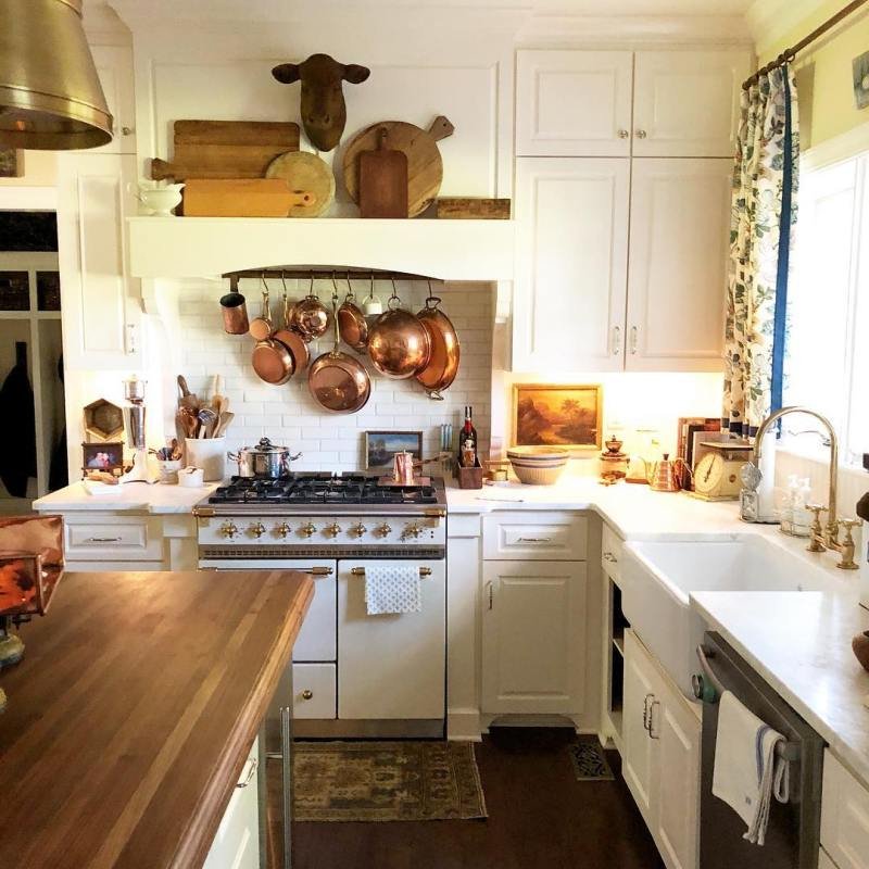 Wood Countertops In The Kitchen Yea Or Nay The Glam Pad