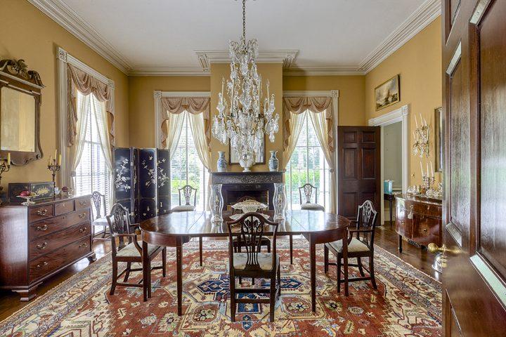 Antebellum Mansion Estate Dining Room Historic Antiques The Glam Pad