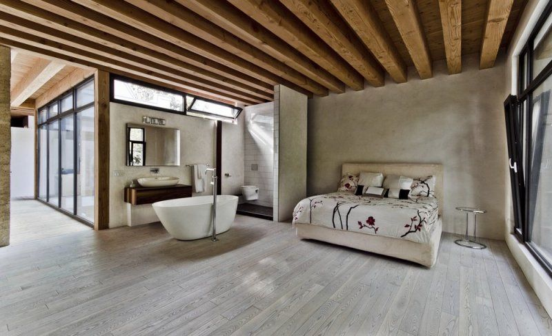 Design Nightmare: The Open Concept Bathroom/Bedroom - The ...