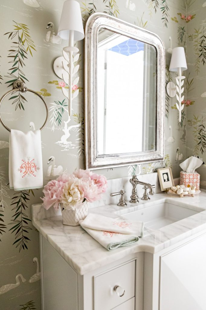 Christmas Shows In Atlanta 2019 clary bosbyshell swan bathroom wallpaper christmas show house