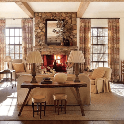 A Refined Farmhouse by Suzanne Kasler, Spitzmiller and Norris