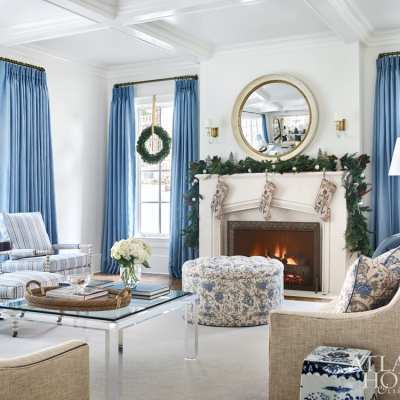 Blue and White Christmas with Clary Bosbyshell