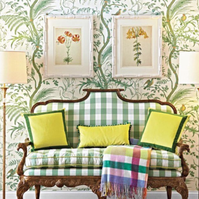 Bird and Thistle – A Timeless Classic by Brunschwig & Fils