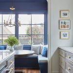 Hk Designs Kitchen Bay Window Seat Breakfast Nook Banquette The Glam Pad