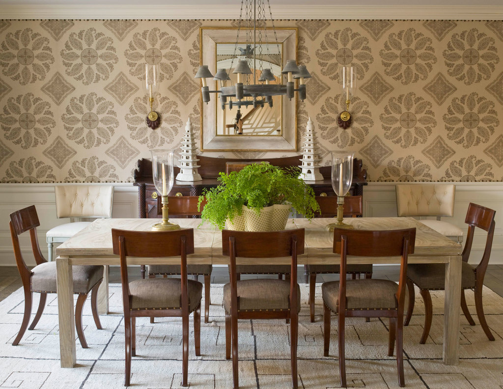 James Michael Howard Dining Room The Glam Pad