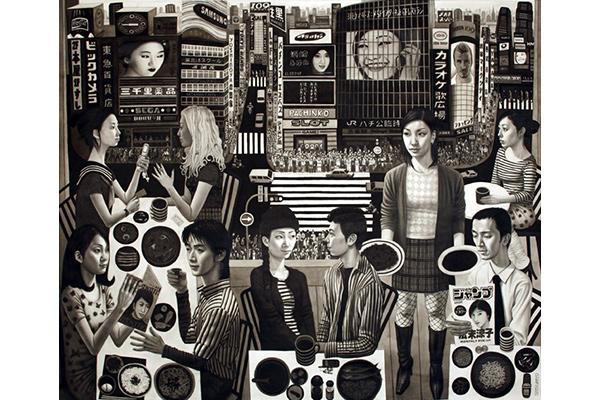 Shibuya by Carl Randall