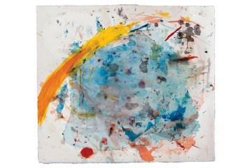 Frances Aviva Blane - Untitled 1: 34x34 cm, pastel on fabriano paper