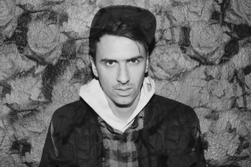 Boys Noize' Alex Ridha photographed at the Coronet, London, October 13, 2012