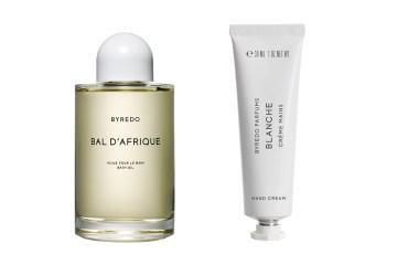 Byredo Bal D'Afrique Bath Oil and Blanche Hand Cream