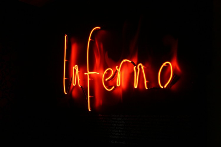 Inferno - Rebecca Mason
