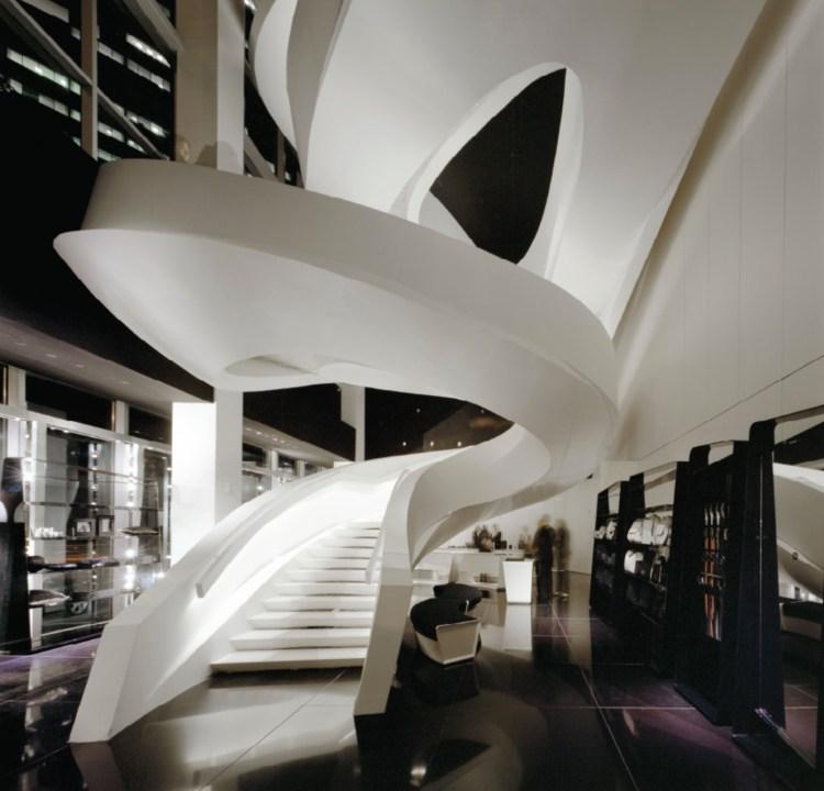Armani Fifth Avenue, New York - USA. 2007-2009. Photograph by Ramon Prat